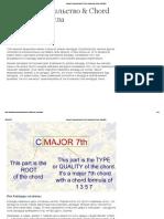 Хорда Строительство & Chord Формула Список _ Spinditty