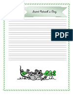 Saint Patrick Note Booking