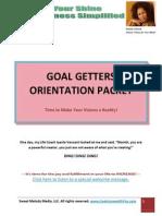 find your shine - starter packet