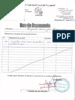 BON DE COMMANDE