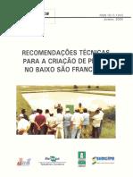 Cpatc Documentos 11 Recomendacoes Tecnicas Para a Criacao de Peixes No Baixo Sao Francisco Fl 131