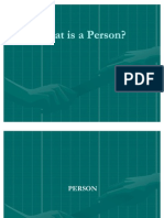 What is a Person