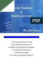Calories Négatives et Régime Low Carb