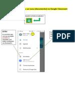Como Criar e Anexar Um Texto (Documento) No Google Classroom