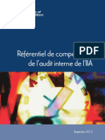 2013 Referentiel-competences-Audit Interne The IIA