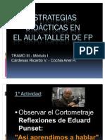 Estrategias Didácticas en el Aula-Taller de FP