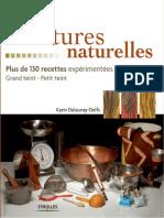 Delaunay-Delfs Karin - Teintures Naturelles