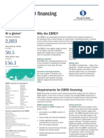 Guide to EBRD Financing