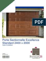 notice-de-montage-porte-de-garage-sectionelle-excellence-acier-blanc-rainuree-200-x-240cm-1