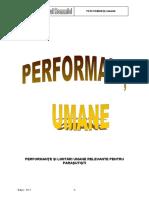 Performante umane 2013