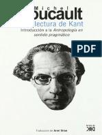 Foucault, Michel (2008) - Una lectura de Kant