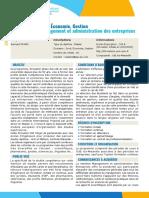 ME5TME-Master Management Et Administration Des Entreprises