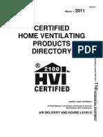 HVI certified_ERV
