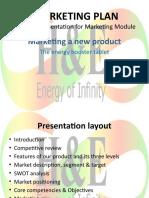 Marketing a new product-a presentation