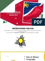 Namibia Google Slides Themes