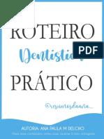 Roteiro Dentística @resumosdaana_