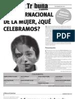 Tribuna de Querétaro 570 Día Internacional de la Mujer, ¿Qué celebramos?