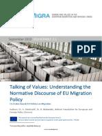 D2.1 Paper on the (value-based) EU policies on migration_v1.0