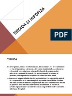 Tiroida si Hipofiza