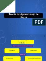 Modelo de aprendizaje taxonómico de Gagné