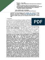 AMPLIA NUEVAMENTE DENUNCIA POR COHECHO Y OTRO CASO 1172 -2020