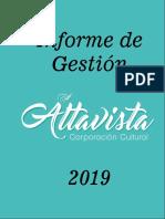 INFORME DE GESTIÓN DEL AÑO 2019