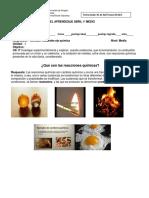 [Template] guia de abril 1º m reacciones quìmicas
