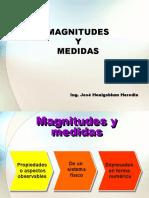 Magnitudes y medidas