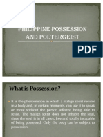 Philippine possession and poltergeist