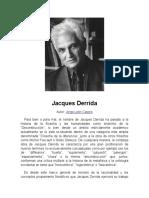 Jacques Derrida y Descartes