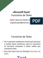 Tema 1 - Funciones de Texto