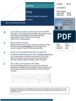 JC Bruckman Research Report 1 Lyris Ad