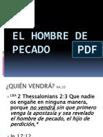 EL HOMBRE DE PECADO