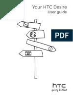 User Manual HTC Desire