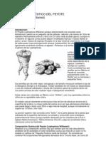 Julio Mogrovejo - Cultivo Domestico del Peyote