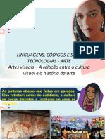 ARTES VISUAIS – A relação entre a cultura visual e a história da arte (1)