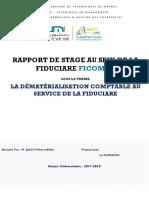 Rapport de Stage Société Ficoman