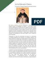 O Princípio Da Educação Clássica – Rafael Falcón