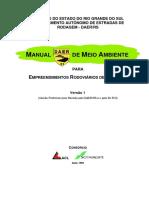 Manual de Meio Ambiente - Melhorias - DAER RS