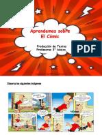 presentación el cómic 3° básico