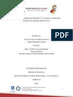 LESIONES Y ENFERMEDADES DE ESPALDA Y RODILLA EN ERGONOMIA - TERAPIA OCUPACIONAL