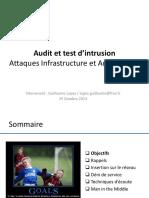 03 - AUTI - Formation - Securite - Attaque-Infrastructure-Architecture