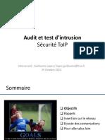 07 - AUTI - Formation - Securite - ToIP