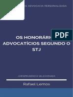 Os Honorários Advocatícios segundo o STJ_Ebook Rafael Lemos Advocacia Personalizada_set_20