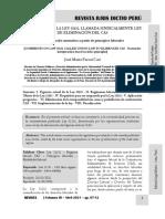 Comentarios Ley 31131 - Ley Eliminación Del Cas - Autor José María Pacori Cari