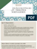 Construção coletiva do ppp – princípios norteadores