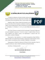 Congratulações Grande Loja Do Ceará
