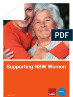 Supporting NSW Women