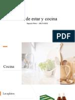 Elementos de la cocina ysala de estar