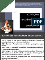 1 - EXTRAÇÕES TERAPÊUTICAS EM ORTODONTIA